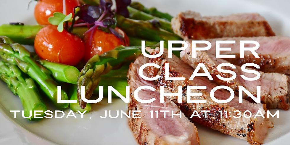 Upper Class Luncheon