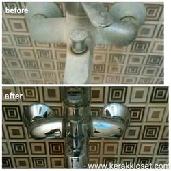 pembersih shower