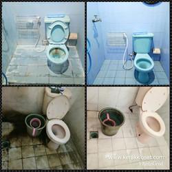 lantai kamar mandi berkerak