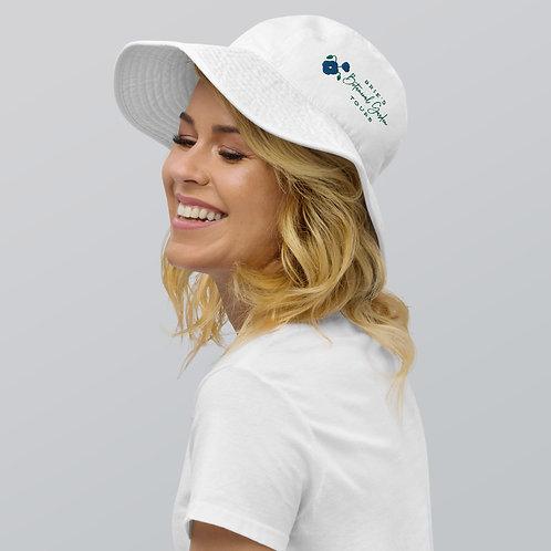 Blue Poppy BBGT Logo Wide Brim Bucket Hat