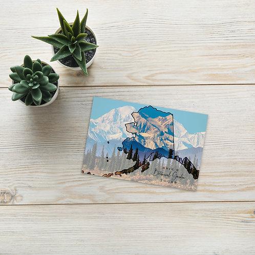 BBGT Alaska Postcard
