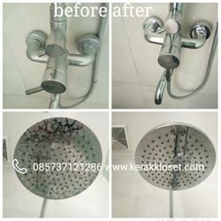 kerak air pada shower