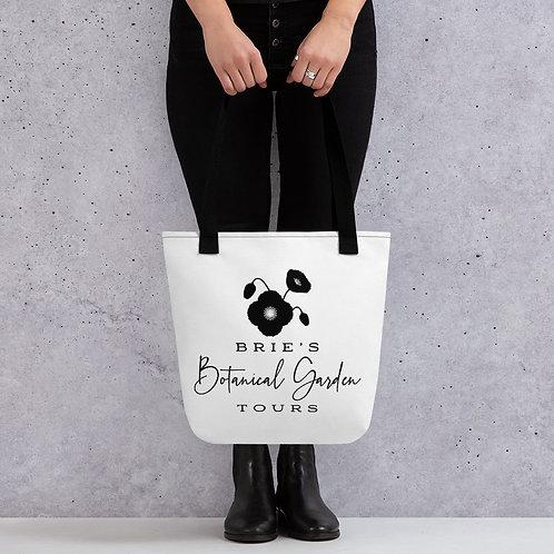 Black & White BBGT Logo Tote Bag