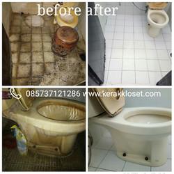 keramik kamar mandi berkerak