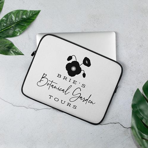 Black & White BBGT Logo Laptop Sleeve