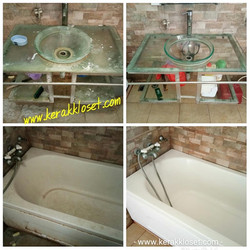tukang bersih bathtub