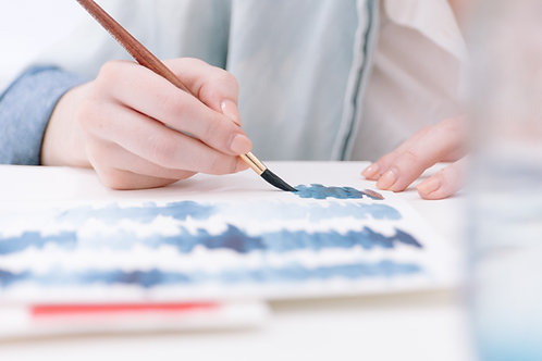 Series Introduction to Watercolor Painting 5 Course plus one free Course