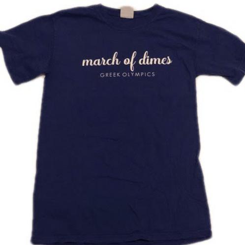 Greek Olympics 2019 Navy Blue Shirts