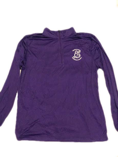 Purple Athletic Quarter Zip
