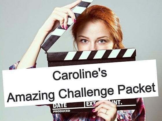 Amazing Challenge Packet for Actors