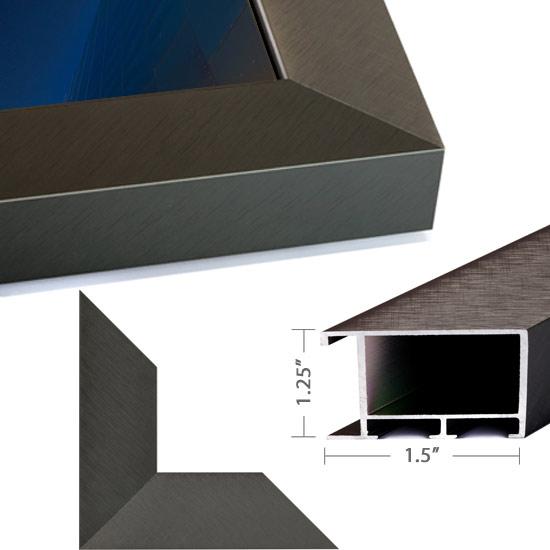 Dark Pewter Aluminum
