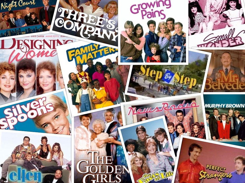 1980s sitcoms Designing Women Perfect Strangers Step by Step Family Matters Three's Company Night Court Small Wonder The Golden Girls