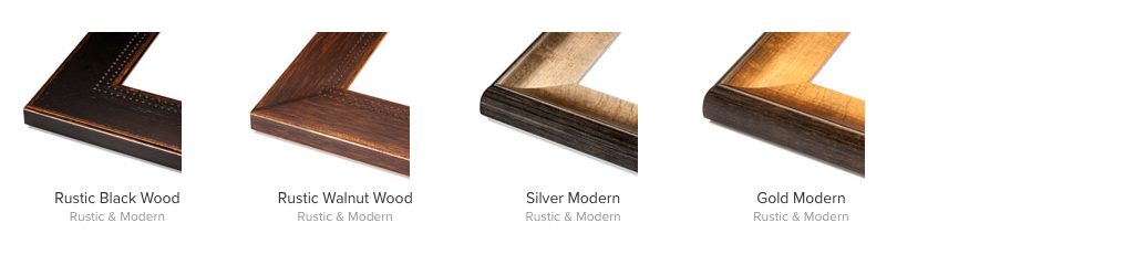Rustic Modern Frames