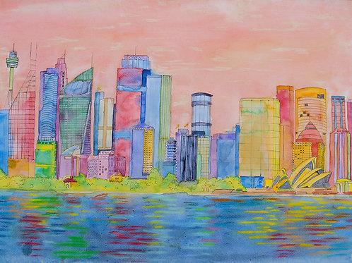 'Serene Sydney Skyline'