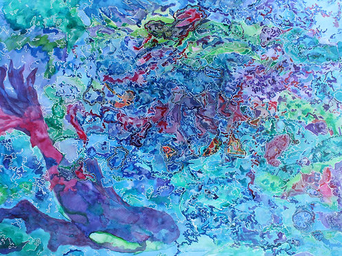 'Fish Through The Coral'