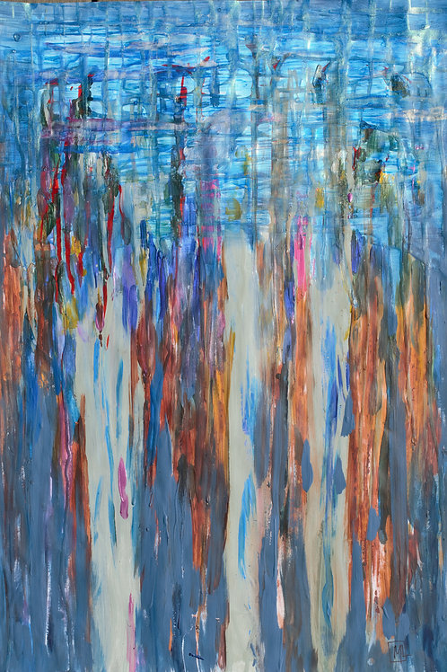 'Rain in the Blue Gum Forest'