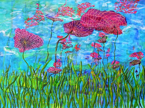 Water Lilies - Underwater Perspective