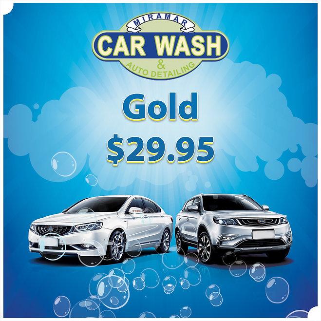 Gold Wash | Car Wash
