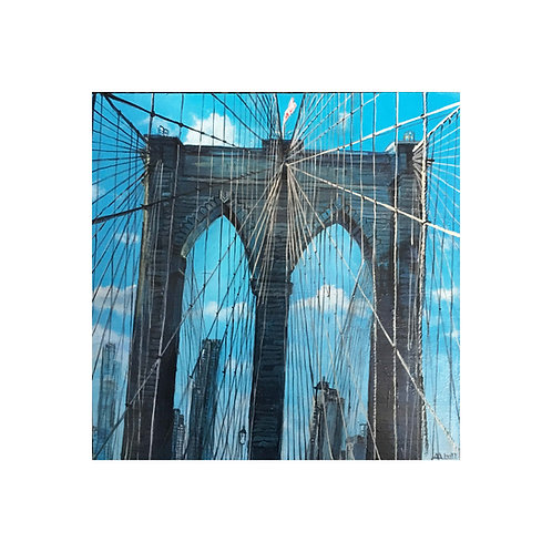 Over the Bridge Print