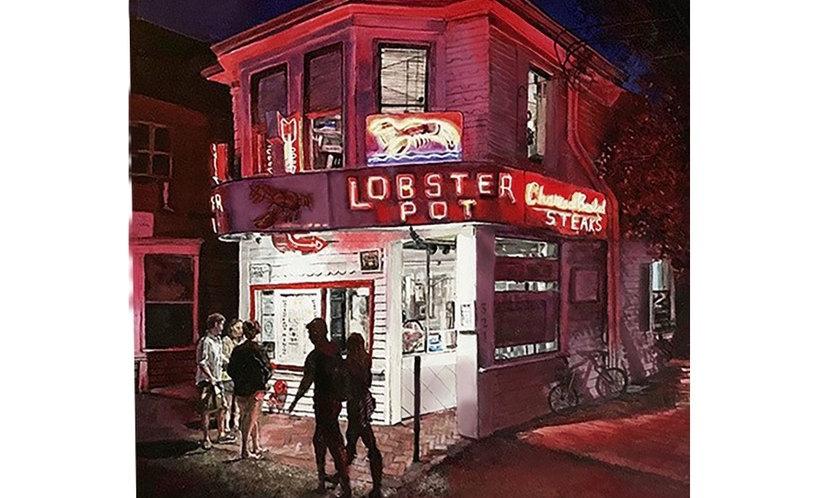 Lobster Pot Print