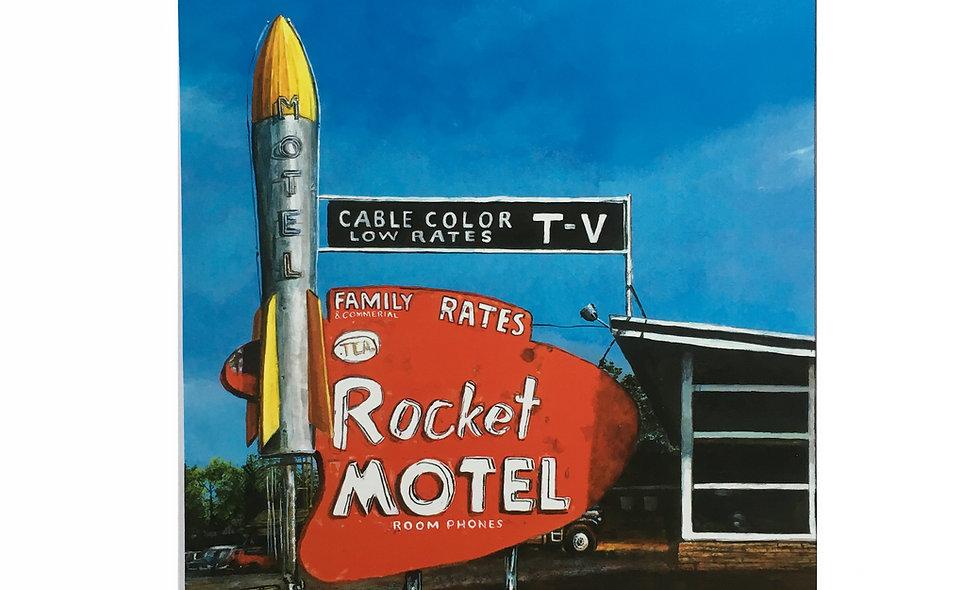 Rocket Motel Print