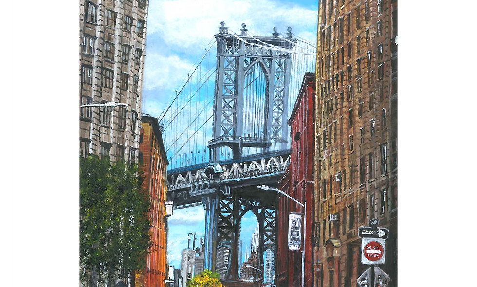 To the Bridge Print