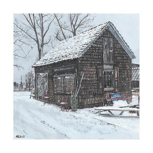 Snowy Day at Terrain Print