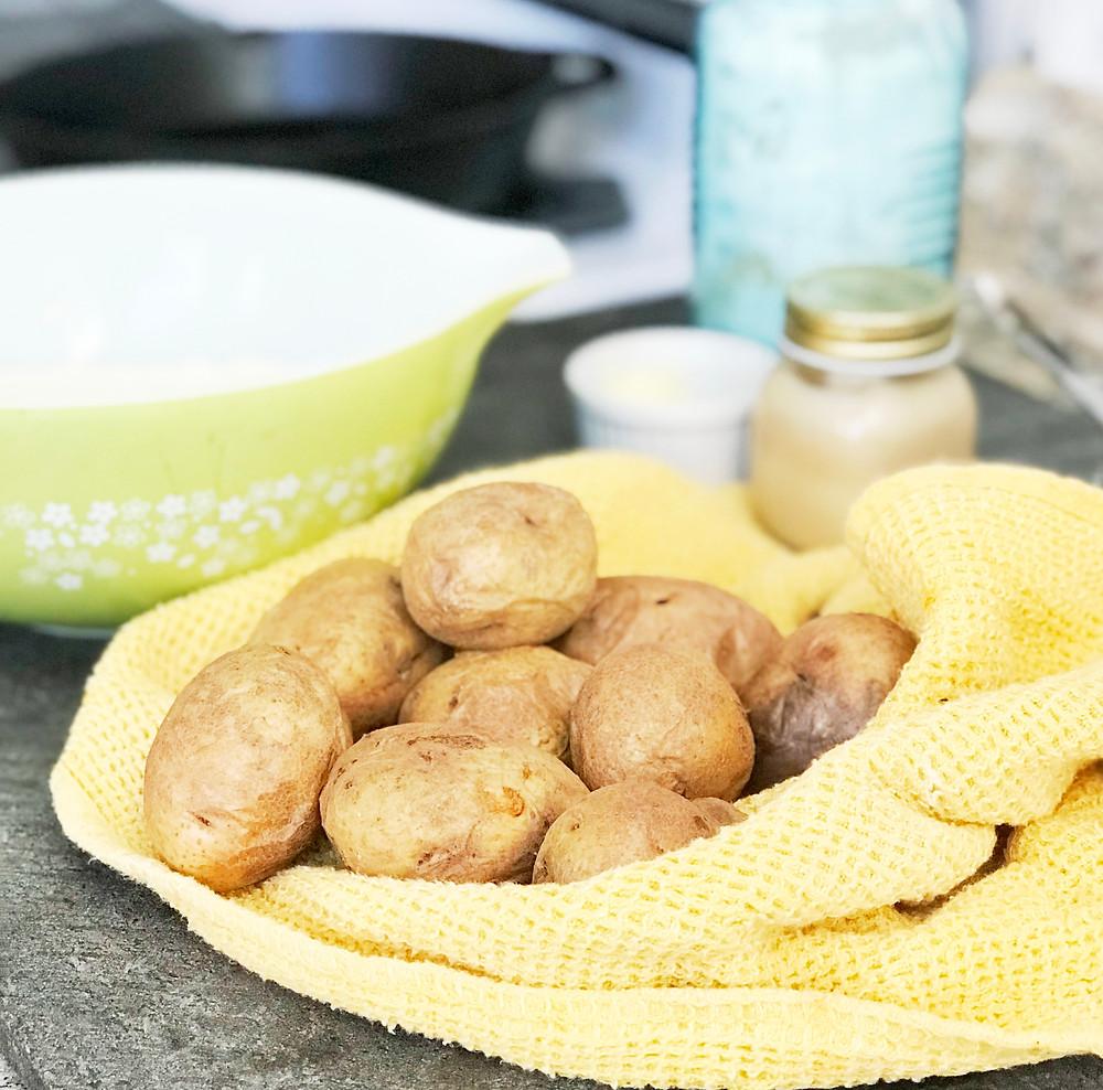 Gluten Free Potato Scones
