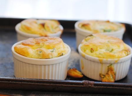 Easy Kale Souffle Bake