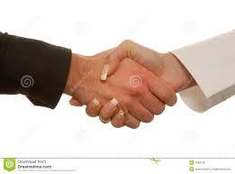 Hand Shake Seen Around the World