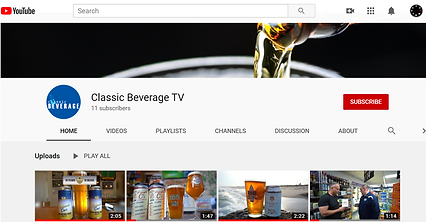 Road K Builds Youtube Channels. Video Improves SEO for Classic Beverage in Hampton Bays