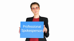 Spokesperson actor for a video that can explain your product or service effectivey.