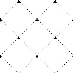 Diamond Lines White