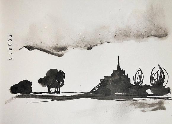 0041. Mont Saint-Michel