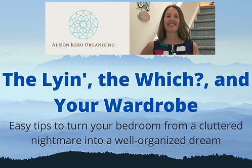 The Lyin', the Which?, & Your Wardrobe