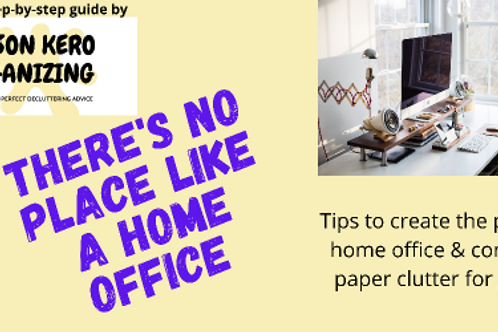 There's No Place Like the Home Office