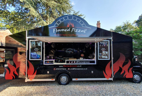 The Flamed Pizzas Van