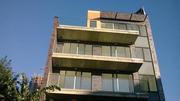 Block front elevation.