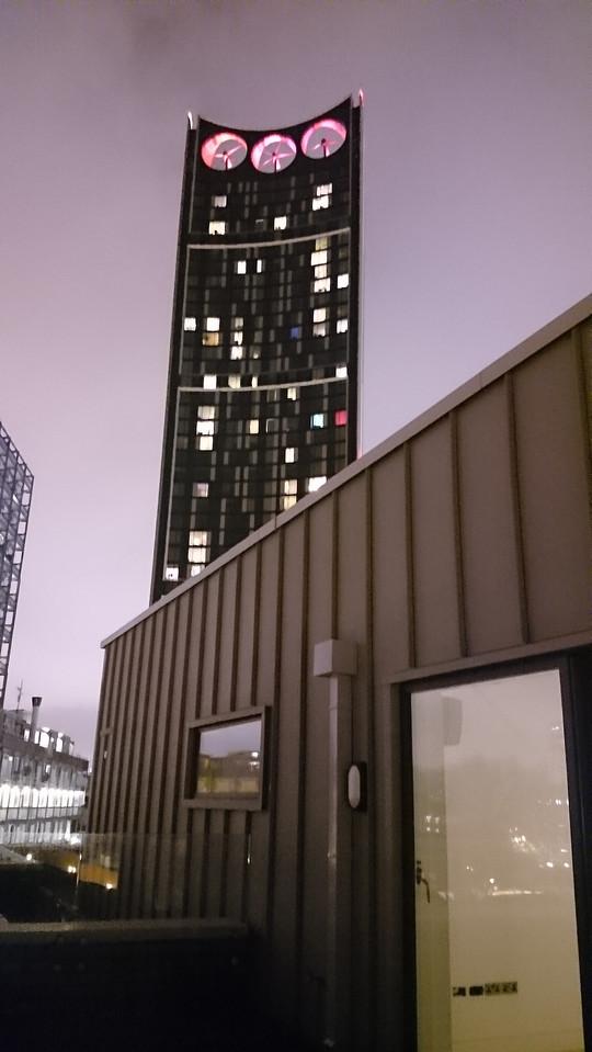 Rooftop luxury apartment