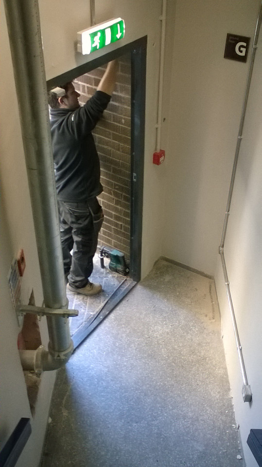 Electrical installation checks.