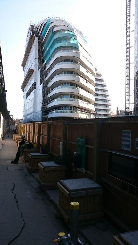 QC monitoring of luxury apartments. Battersea Bridge