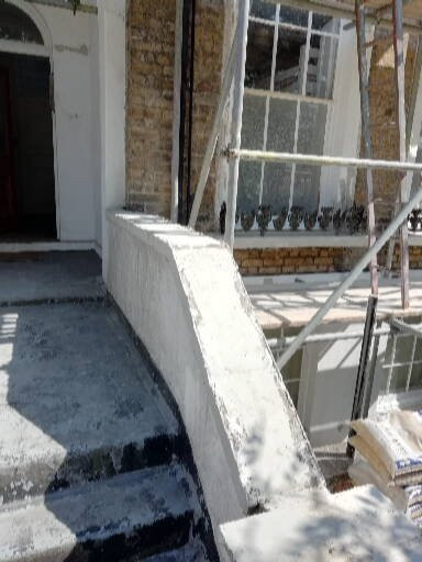Front entrance / wall.