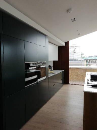 Kitchen installation.
