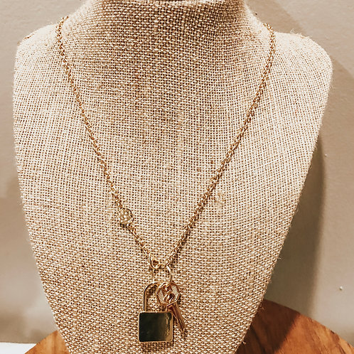 Locked and Loaded Necklace
