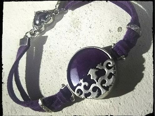 チューリップのアラベスクのブレス~パープル