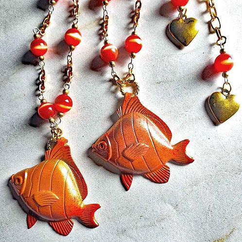 金魚のネックレスBタイプ