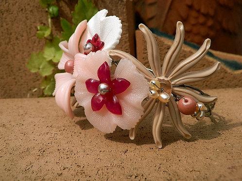花盛りバングル~ピンク