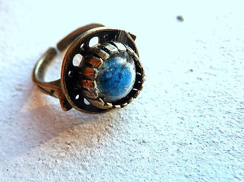 K2アズライト 青い瞳のリング ナチュラルスタイルアクセサリー