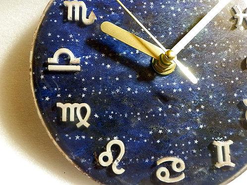 星座のプレート時計~星の河