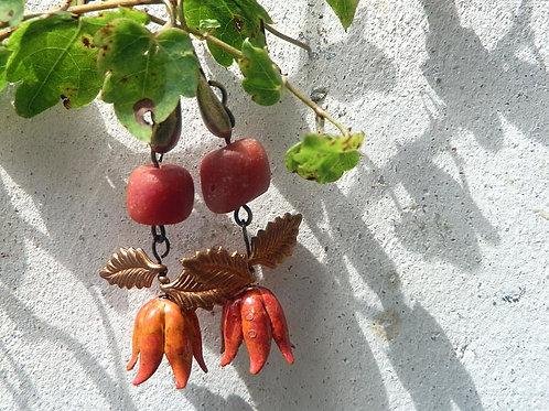 ラスティックオレンジピアス
